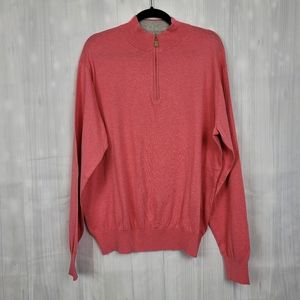 Peter Millar Crown Soft Sweater Pink